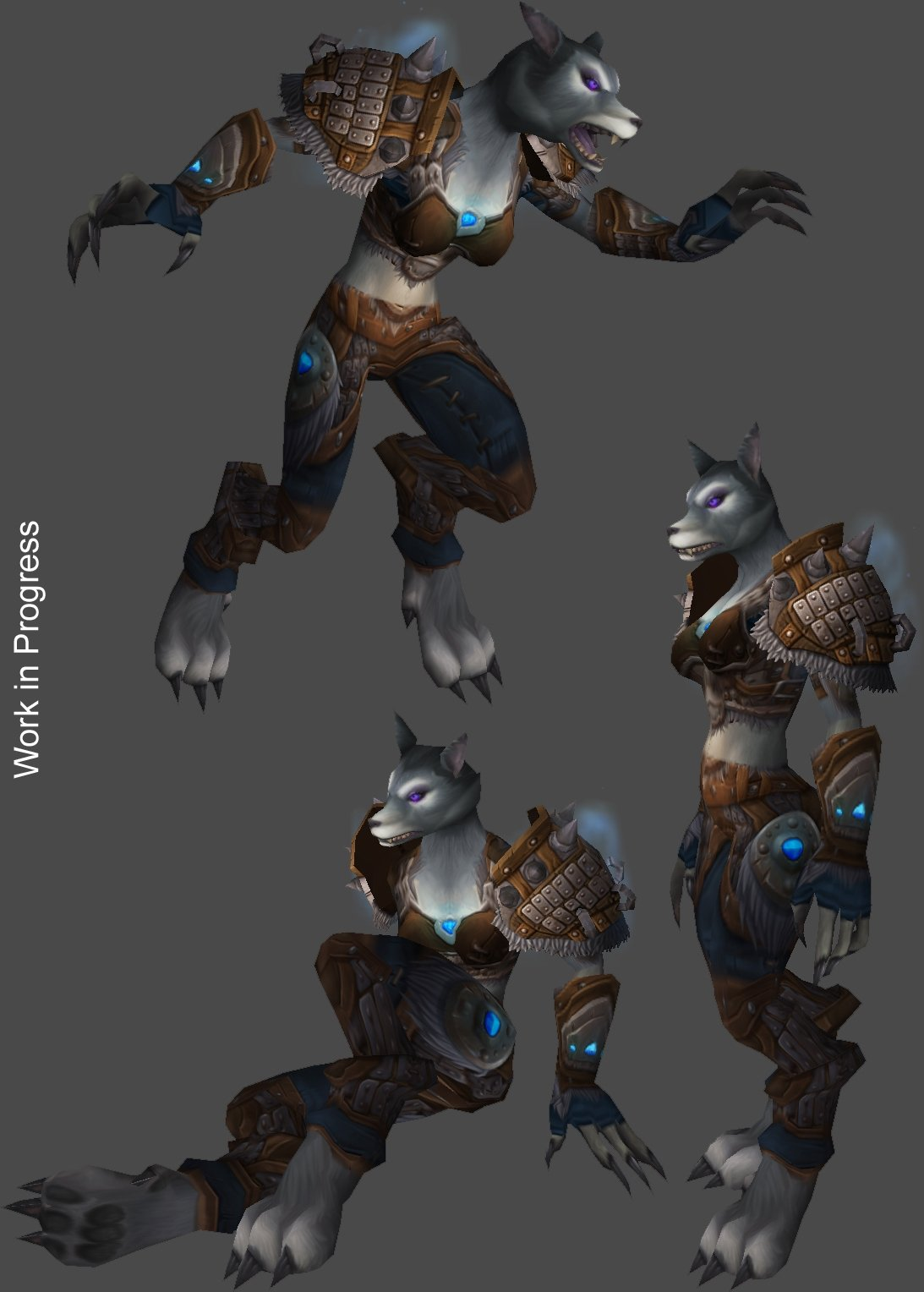 Female Worgen Models The Mary Sue