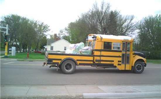 School Bus Converted Into Food Truck