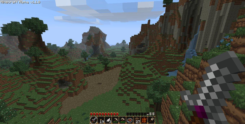 Building Minecraft Buffet