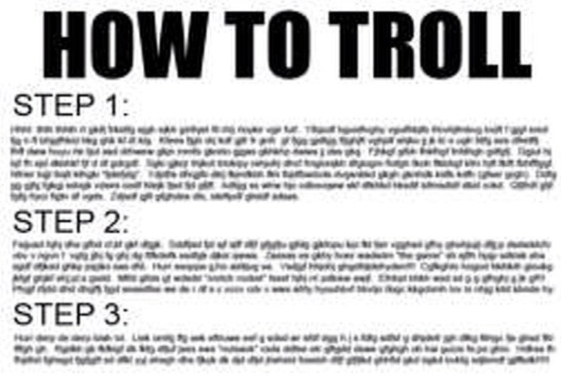 to do list troll