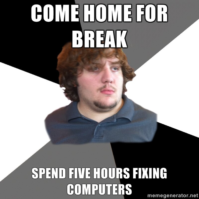 Family Tech Support Guy: Or, 21 Reasons Why Technology Isn ...