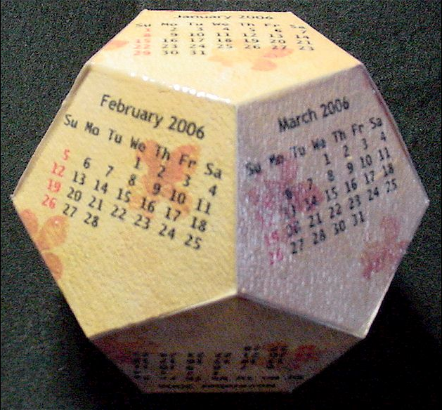 12 sided calender the mary sue