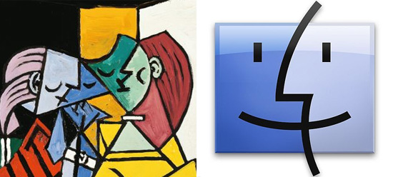 Apple Finder Icon Inspired by Picasso?   The Mary Sue