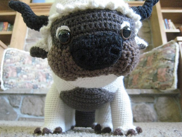 Knit Amigurumi Appa | The Mary Sue