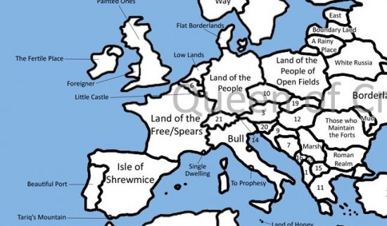 World map the mary sue geography geeks will love this world map gumiabroncs Choice Image