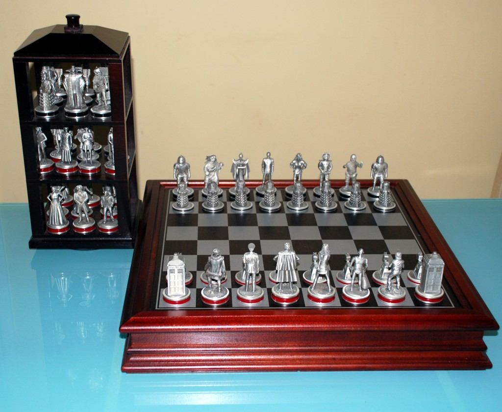 how to set up a chess set
