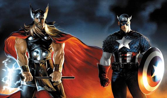 Thor Captain America Sequels | The Mary Sue