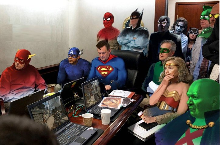 Things We Saw Today: The Superhero Situation Room  The Mary Sue