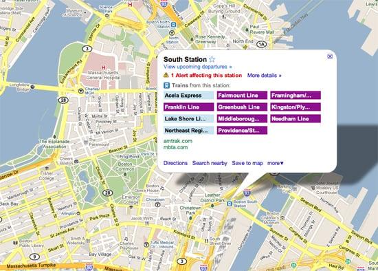 Google Maps Now Has Live Transit Updates
