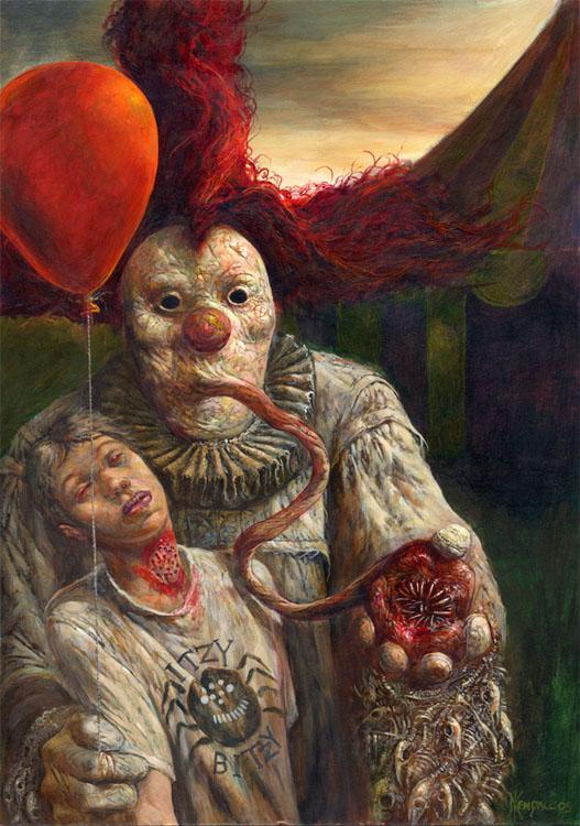 Terrifying Clown Is Terrifying The Mary Sue