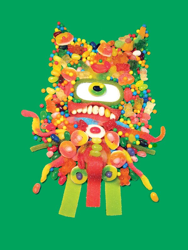 Piles Of Foodstuffs Create Delicious Art The Mary Sue