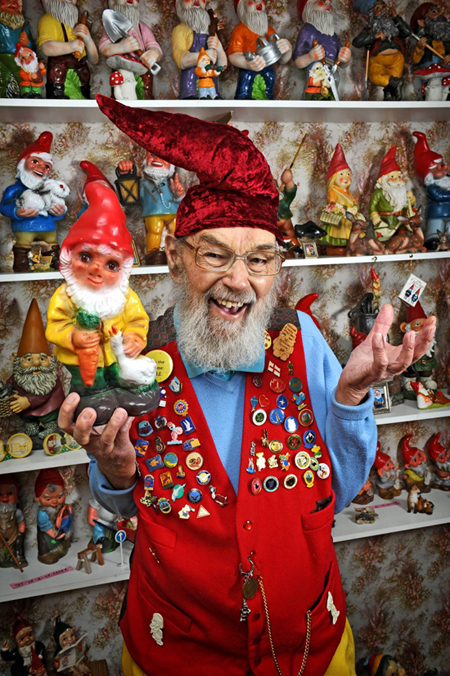 This Man Has The World S Largest Collection Of Gnomes