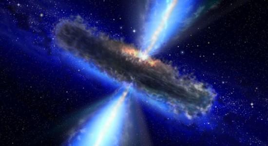 Descoberto o maior reservatório de água do Universo Quasar-water-550x300