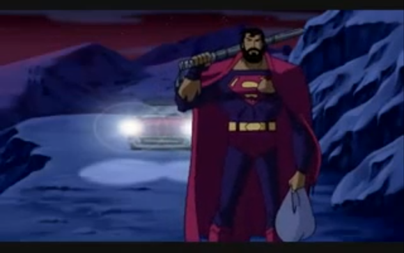 Bearded Superman 6 Infamous Superman Be...