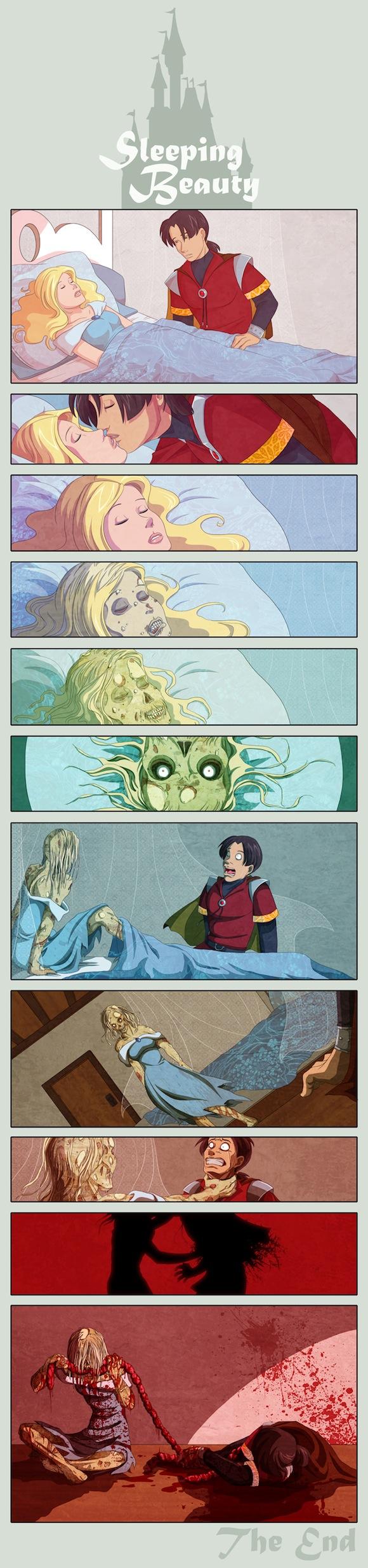 zombie sleeping beauty the mary sue
