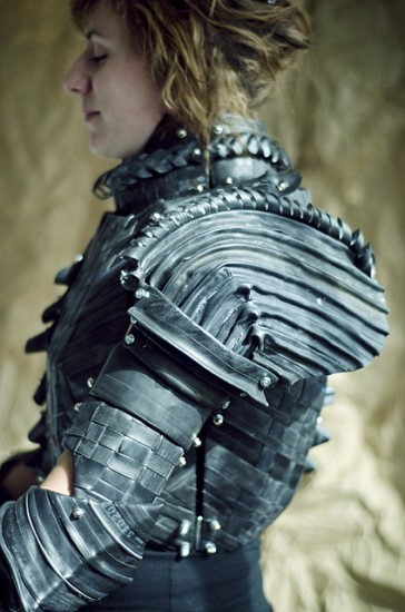 how to make medieval armor out of cardboard