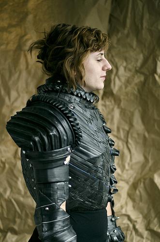 Cardboard Joan Of Arc Armor The Mary Sue