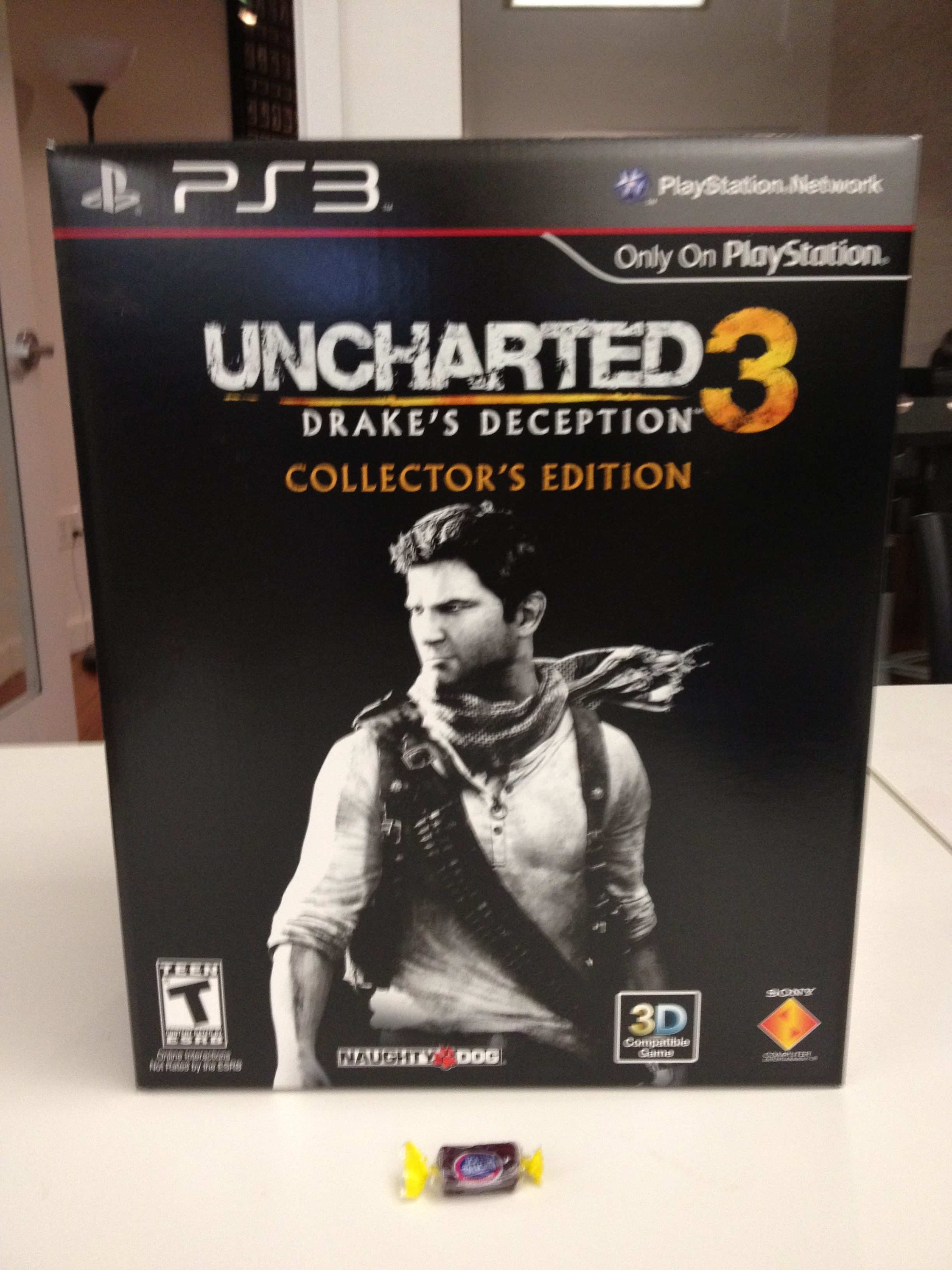 The Uncharted 3 Collector S Edition Is Humongous The Mary Sue