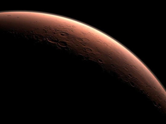 Mars NASA CG
