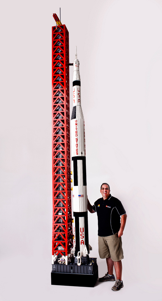 Spectacular LEGO Saturn V Rocket is an Unbelievable 19 ... Raising The Bar Cast