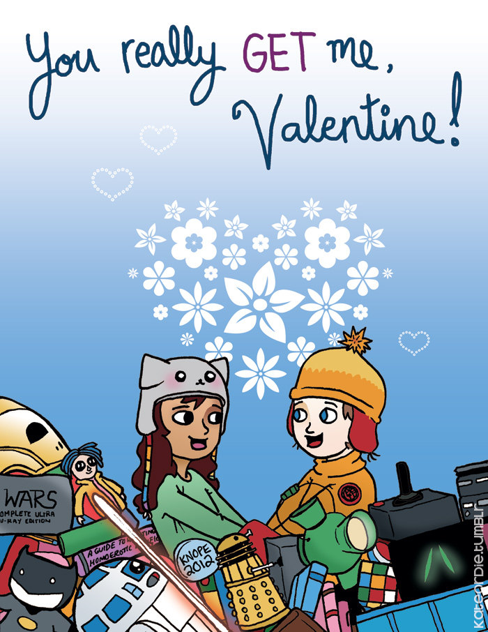 52 funny geeky valentines cards the mary sue - Geeky Valentines Cards