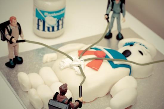 Lego Ghostbusters Birthday Cake