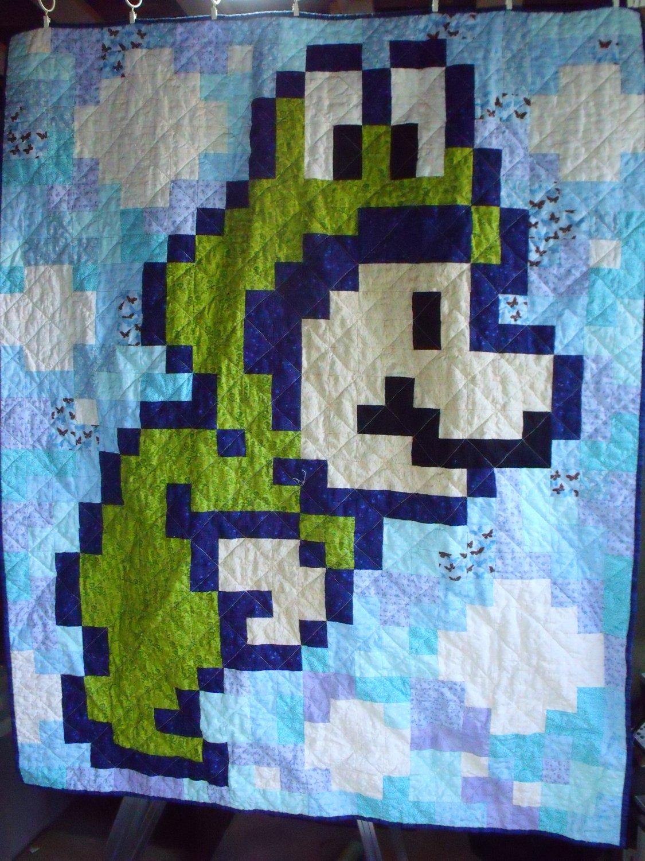 Super Mario 3 Quilts | The Mary Sue : mario quilt - Adamdwight.com