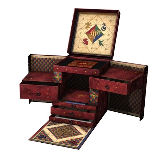 Harry Potter Book Chest ~ Harry potter blu ray box set is enormous costs the