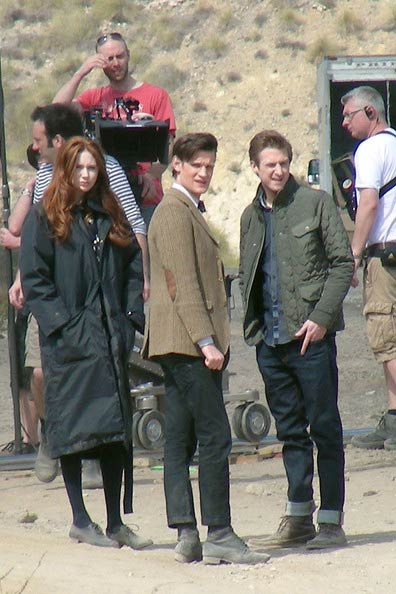 Doctor Who Spain Set Pics   The Mary Sue