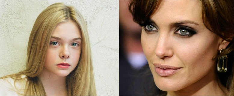 Maleficent Looks At Elle Fanning The Mary Sue