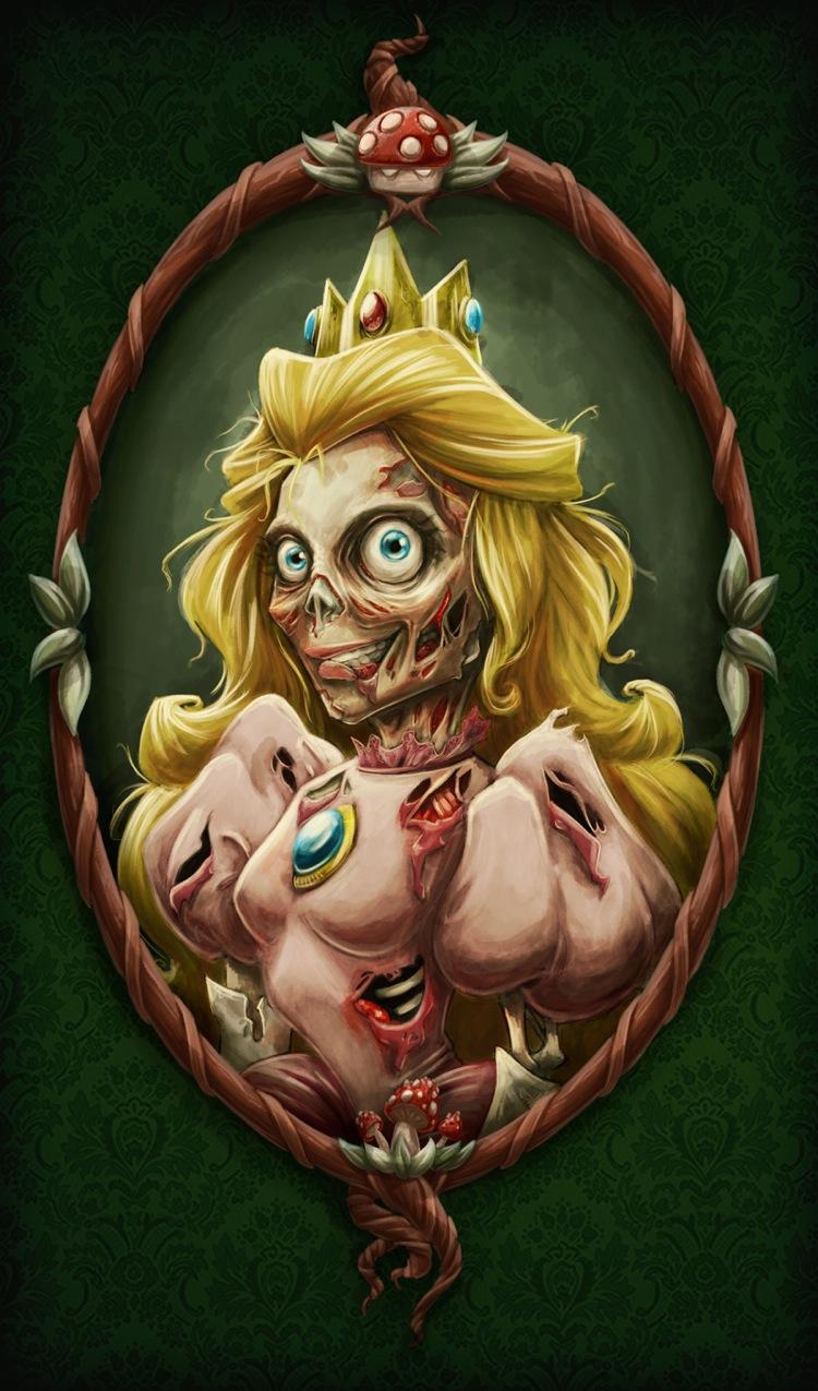 anime zombie princess: Things We Saw Today: Nintendo Zombies