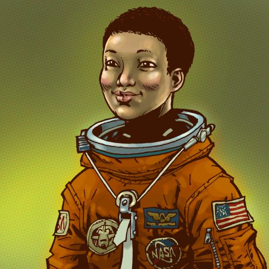 woman astronaut mae jemison-#13