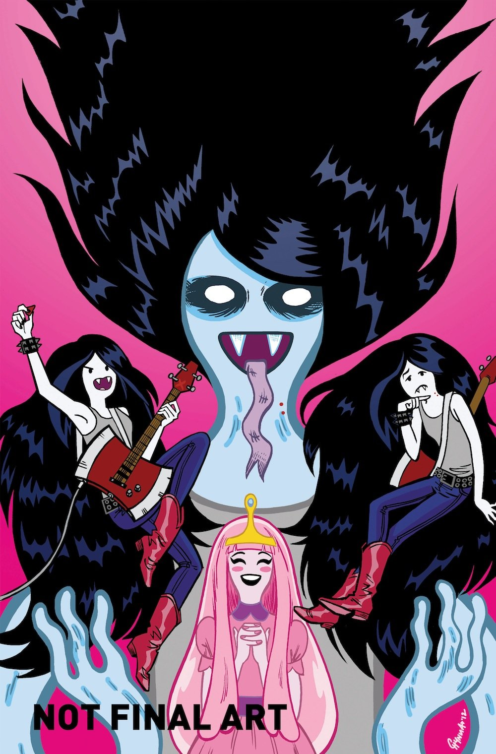Adventure Time Marceline Comic The Mary Sue