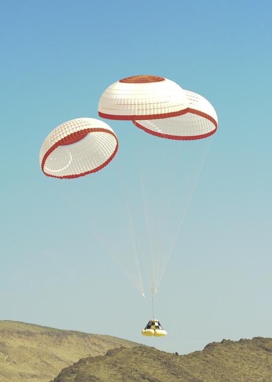 name of nasa parachute - photo #28
