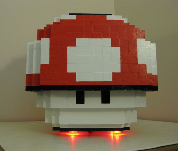 8 Bit Mario Mushroom