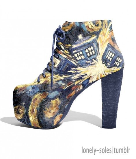 These Doctor Who Shoes Don t Actually Exist (But We Wish They Did