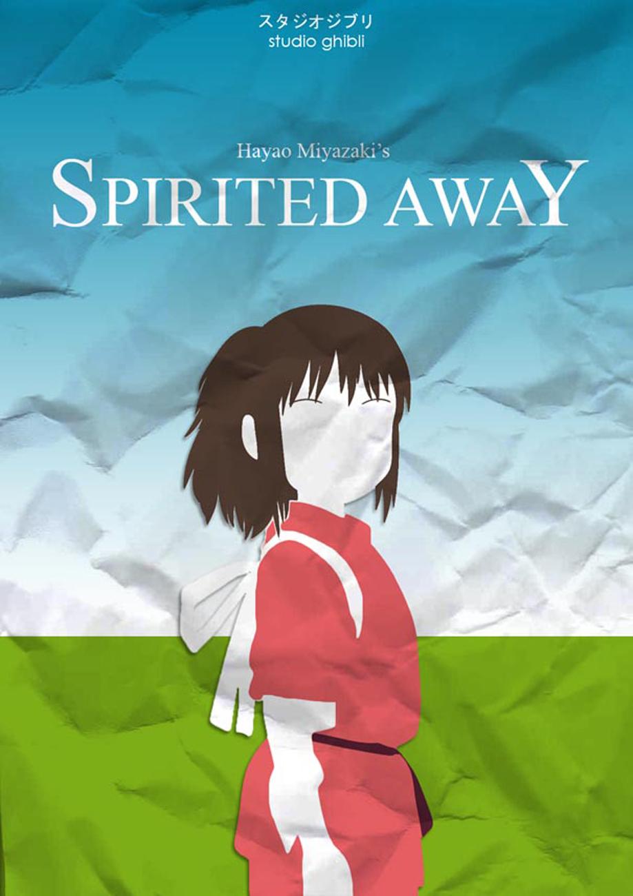 Minimalist Studio Ghibli Movie Posters | The Mary Sue