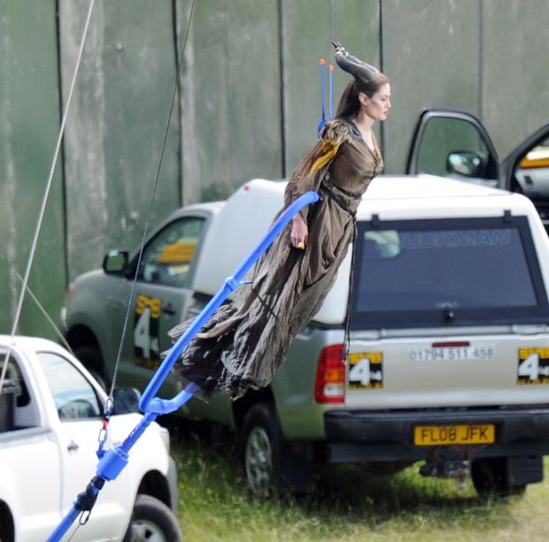 Things We Saw Today Angelina Jolie As Maleficent Flying