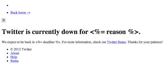 Instant Message Meme : Twitter goes down broken error message spawns instant