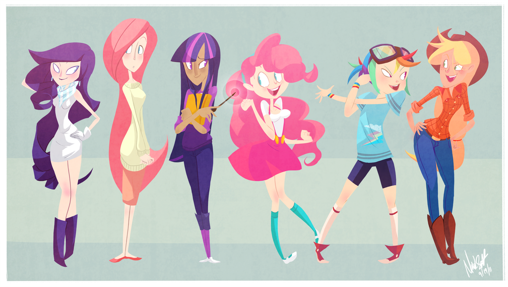 these my little pony characters are real people the mary sue