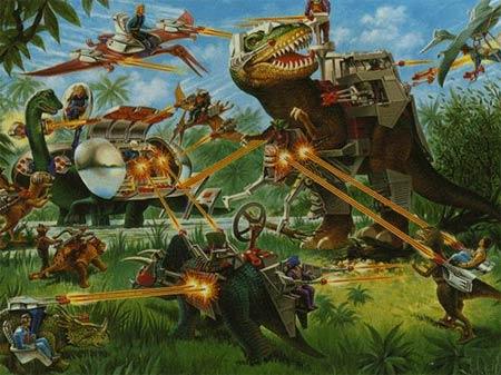 Jurassic Park 4 Dinosaurs