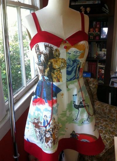 star wars sheet dress