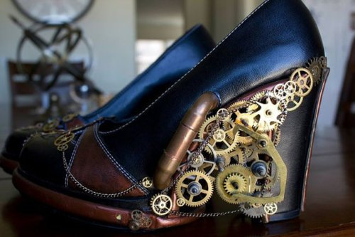 Light Up Steampunk Shoes The Mary Sue