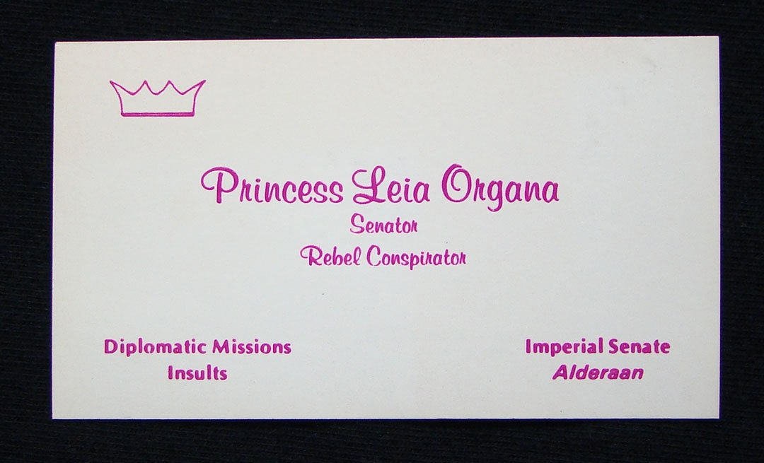 Star wars business cards the mary sue colourmoves