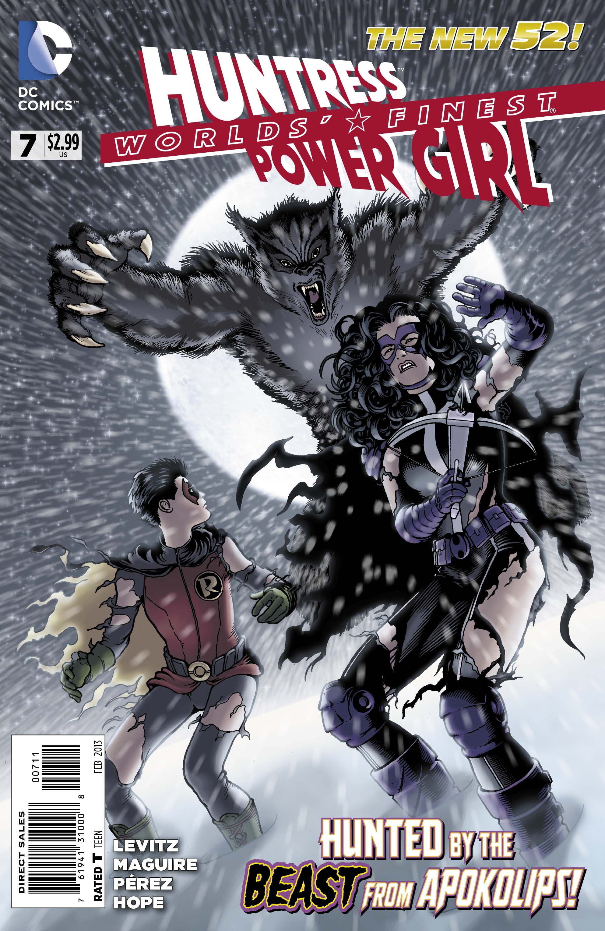 An Exclusive Preview of Worlds' Finest #7 Featuring Power Girl and