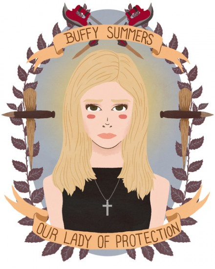 Our Lady of Protection Buffy