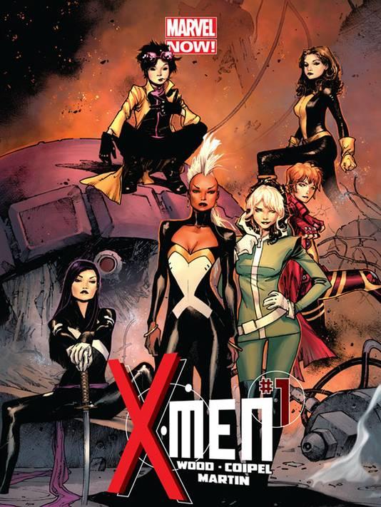 X Men Girl Characters Marvel's New X-Men Com...