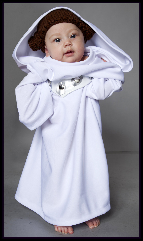 Princess Leia Baby Costume The Mary Sue