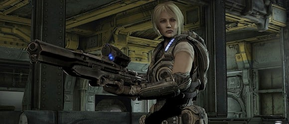 Gears of war art director everybody likes our female characters but