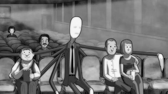 This slender man music video's both horrifying and strangely